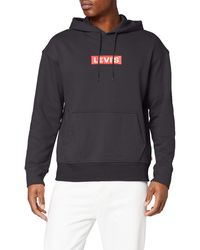 Levi's - Relaxed Graphic Hoodie Sudadera - Lyst
