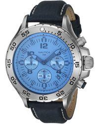 Nautica Montre Homme - NAI19535G - Bleu
