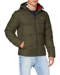 Tommy Hilfiger Tjm Essential Down Jacket, - Black