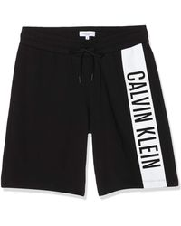 Calvin Klein Medium Jersey Short Bas De Pyjama - Noir