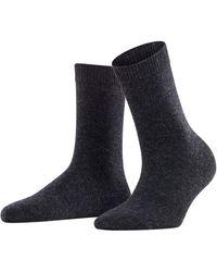 Falke Cozy Wool W So - Gray