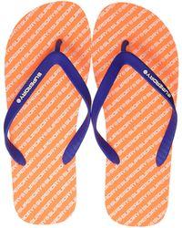 Superdry International Flip Flop - Naranja
