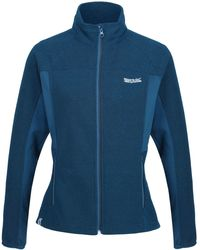 Regatta S Highton Winter Stretch Side Panels Full Zip Softshell Jacket fleece - Blau