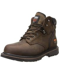 Timberland - 6 Pit Boss Steel Toe (gaucho Oiled Full-grain Leather) Men's Work Lace-up Boots - Lyst