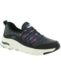 Skechers Arch Fit-Rainbow View Sneaker für - Schwarz