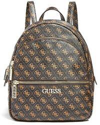 Guess Hattan Backpack Backpack Logo - Brown