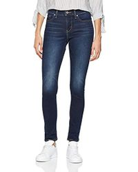 Levi's 311 Shaping Skinny Jeans Donna - Blu