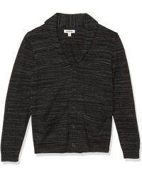 Goodthreads Soft Cotton Cardigan Summer Sweater - Noir
