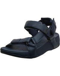 Fitflop Ryker Slide Sandal - Blue