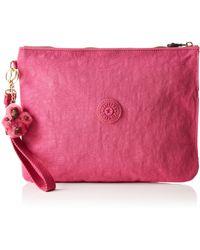 Kipling Ladies IAKA L WRISTLET porte-monnaie / sac à cosmétiques,Lot de 3 - Rose