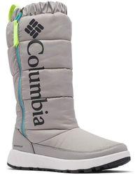 Columbia Paninaro Omni-Heat Tall Snow Boot - Grigio