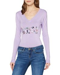 Guess Veronica Sweater Cardigan - Violet