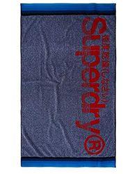 Superdry Sun Rider Towel - Blue