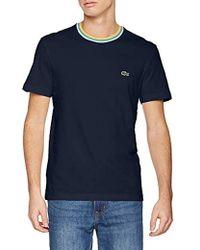 Lacoste T-Shirt Homme - Bleu