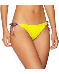 Tommy Hilfiger String Side Tie Bikini Braguita - Amarillo