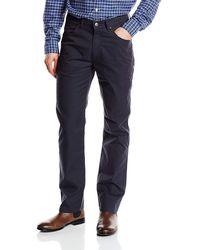 Wrangler - Arizona Stretch Straight Trousers - Lyst