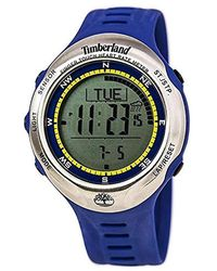 Timberland Unisex 13386jpbus_01 Washington Summit Digital Sensor Pacer Watch - Blue