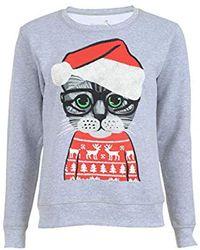 Hanes - Ugly Christmas Sweatshirt - Lyst