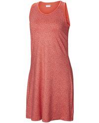 Columbia Saturday Trail Iii Kleid Dresses - Red