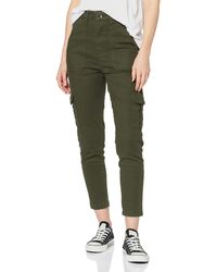 Superdry New 90s Cargo Trousers - Green