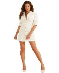 Guess Sara Dress Robe décontractée - Blanc