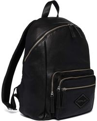 Replay Backpack Leather Black