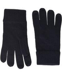 Tommy Hilfiger Pima Cotton Gloves Winter Accessory Set - Black