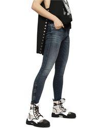 DIESEL Skinzee-low-zip 069bj Jeans Trousers Skinny - Blue
