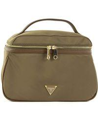 Guess Did I Say 90s? Large Beauty Bag Military - Grün