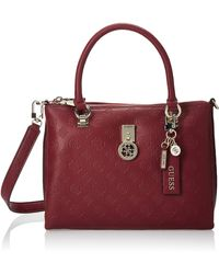 Guess Ninnette Society Carryall - Red
