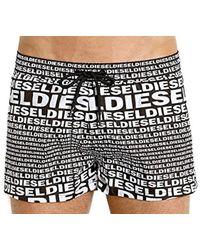 92d124fcf5 DIESEL Sandy-e Swim Boxer Shorts Bami in Black for Men - Lyst