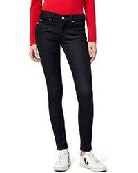 Tommy Hilfiger Donna Mid Rise Nora Skinny jeans skinny - Blu