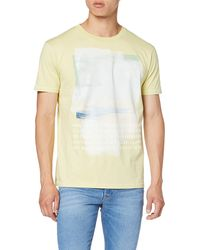 Pepe Jeans Glover Pm506560 T-shirt - Yellow