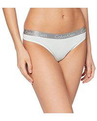 Calvin Klein Thong Mutandine Donna - Verde