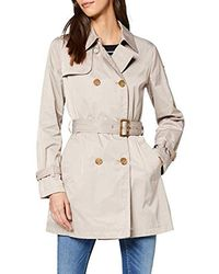 Geox W Airell F Coat - Natural