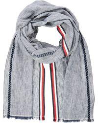 Tommy Hilfiger Corporate Stripe Scarf Bufanda - Azul