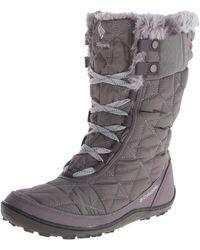Columbia Minx Mid Ii Omni-heat Winter Boot - Gray