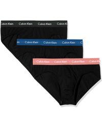 Calvin Klein Hip Brief 3pk Boxer Uomo - Nero