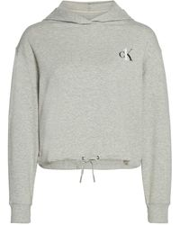 Calvin Klein - Felpa con cappuccio - Lyst