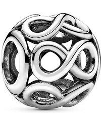 PANDORA Bead Charm Donna argento - 791872 - Metallizzato