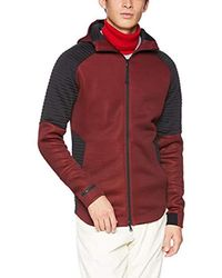 Under Armour Unstoppable Move Fullzip Ho Sweat-Shirt, Rouge (Burgundy 1320705-600)