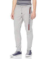 Tommy Hilfiger Herren Basic Sweatpants Sporthose - Grau