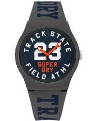 Superdry - Homme Analogique Quartz Montre avec Bracelet en Silicone SYG182UE - Lyst