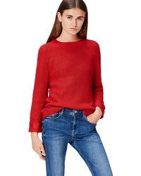 FIND Pull Oversize 3/4 Sleeves - Rouge