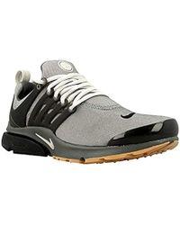 76714b8d6 Nike Air Presto Premium Fleece Sneakers in Gray for Men - Lyst