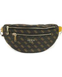 Guess Vikky Belt Bag - Marrone