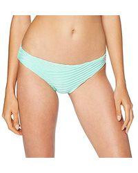 Seafolly Freshwater Hipster Slip Bikini Donna - Blu