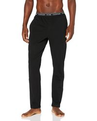 Calvin Klein Sleep Pant Pantalones de Pijama - Negro