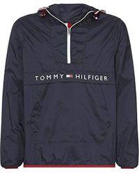 Tommy Hilfiger - Ultra Light Packable Anorak Manteau imperméable Homme - Lyst
