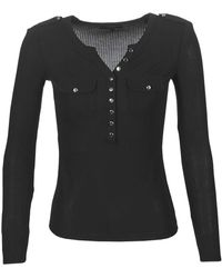 Guess Shirt & Polo Femmes Nero - XL - T-Shirts a iche